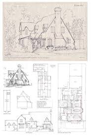tudor style house plans 89 best vintage house plans storybook images on pinterest