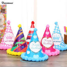 in party supplies huxiaomei 2107 new paper hats dress up boys party supplies