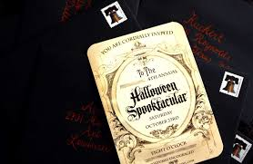40 marvelous halloween themed invitation cards emuroom