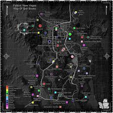 Fallout 3 Interactive Map A Map To Every Skill Book Fallout