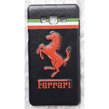 ferrari horse logo samsung a7 2016 covers