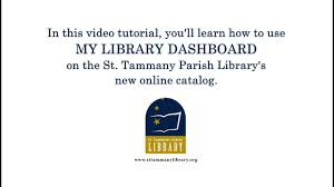 online tutorial library using my dashboard on the library s new online catalog youtube