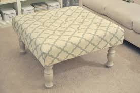 How To Make An Ottoman From A Coffee Table We Inform We Provide Image For Diy Upholstered Coffee Table With