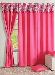 Swayam White N Pink Floral Pink Curtains U0026 Sheers Buy Pink Curtains U0026 Sheers Online In