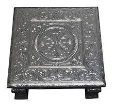 Indian Table L Time Puja Bajot Table Chowki Hindu Pooja
