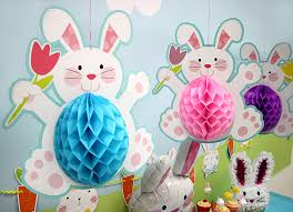 bunny decorations easter bunny party ideas party delights