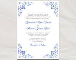 royal wedding invitation purple and silver wedding invitation template diy printable