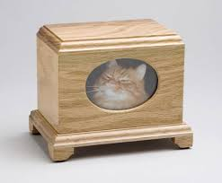 pet urns for cats beautiful wood urn that allows you display a photo of your lost