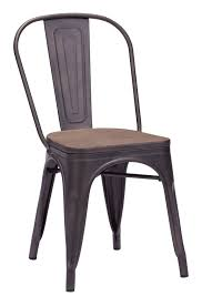 Tolix Dining Chairs Metal Tolix Chairs Set 2 In 4 Classic Finishes