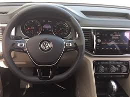 volkswagen atlas sel interior 2018 new volkswagen atlas 3 6l v6 sel fwd at volkswagen south