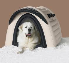 Igloo Dog House Small Yukon Tm The First Ever Inflatable Doghouse Offers Dogs