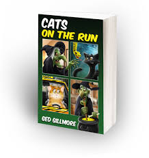 cats run cats undercover funny chapter books kids