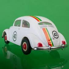 volkswagen beetle herbie beetle herbie with friction vintage toy