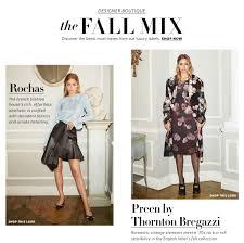 luxury designer clothing fall 2016 lookbook shopbop
