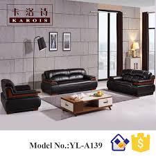 canapé de bureau modèle a139 traditionnel en cuir section patron bureau canapé