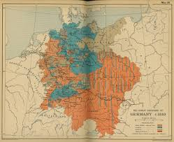 France Germany Map by