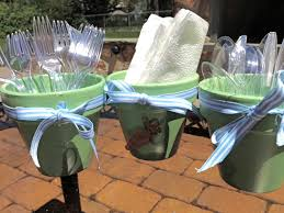 Cheap Small Flower Pots - two it yourself diy utensil holder from small flower pots they