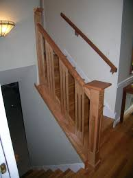 Banister Railing Ideas Articles With Stair Railing Designs Wood Tag Stairway Railing
