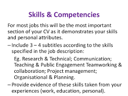 Personal Qualities To Put On A Resume Cv Advice For Postgraduates And Postdoctoral Researchers