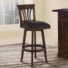 Leather Swivel Bar Stool Bar Stools Kitchen U0026 Dining Room Furniture The Home Depot