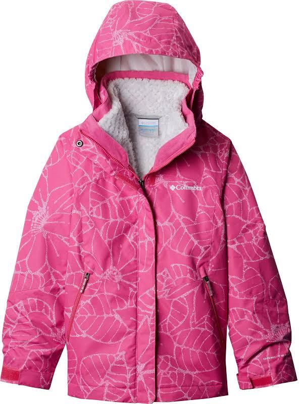 Girls Bugaboo II Fleece Interchange Jacket (Pink Ice Floral)-S