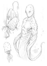 sketches for underwater creature sketches www sketchesxo com