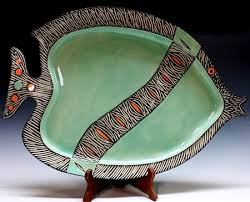 ceramic fish platter platter ceramics and pottery arts and resources