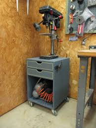 diy rolling drill press stand wilker do u0027s