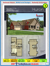huron rochester modular home cape cod multi level plan price