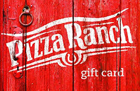 20 gift card pizza ranch barnwood gift card 20 gift cards
