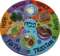seder meal plate seder prep make your seder a passover dinner party rabbi paul
