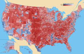 2012 Presidential Election Map by M U0026m County Maps