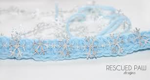 frozen headband crochet headband pattern frozen snowflakes rescued paw