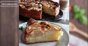 toute la cuisine que j aime gâteau aux pommes et pépites de chocolat recette par toute la