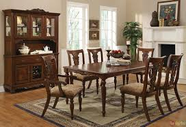 Addison Dining Transitional Dining Sets Cherry Dining Room Set - Transitional dining room chairs