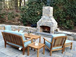 Outdoor Fireplace Canada - stone patio fireplace stone fireplace traditional patio stone