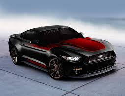 Black And Lime Green Mustang Sema 2016 Ford Teases Custom Mustangs And Fusions