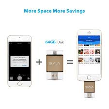amazon com iphone ipad flash drive 64gb usb 3 0 memory stick with