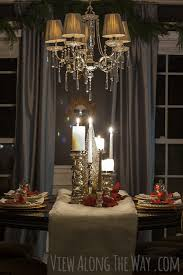 Christmas Dining Room Table Decorations Christmas Centerpiece And Tablescape Ideas