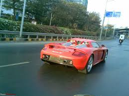 porsche carrera red red porsche carrera gt in mumbai edit silver one visiting as