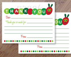 kids thank you cards kids thank you card etsy