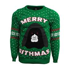 sweater wars wars merry sithmas official jumper amazon co uk