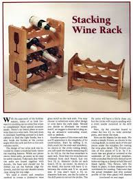 stacking wine rack plans u2022 woodarchivist