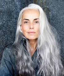 layered hairstyles for medium length hair for over 50 30 stylish gray hair styles