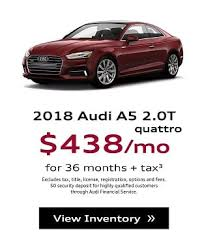 audi a5 lease specials audi lease specials at circle audi area