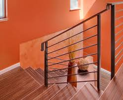 Laminate Flooring For Stairs Contemporary Staircase With High Ceiling U0026 Laminate Floors