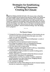 discipline strategies in the music classroom advice for teachers