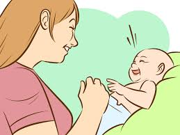 4 ways to make a baby laugh wikihow