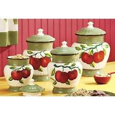 apple kitchen canisters 508 best kitchen canisters images on kitchen canisters