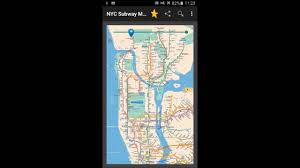 New York Submay Map by New York Subway Map Nyc Youtube